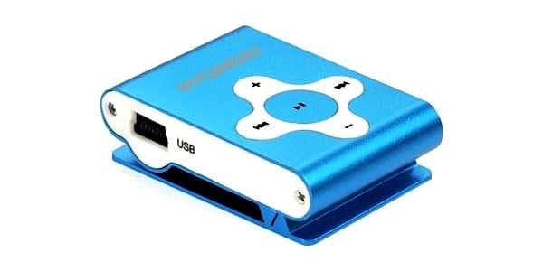 MP3 přehrávač Hyundai MP212BU modrý