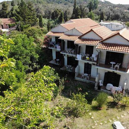 Řecko - Korfu na 8 až 12 dní, bez stravy s dopravou letecky z Prahy