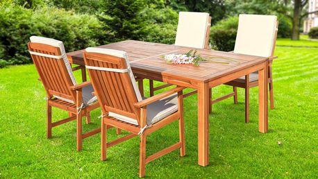 Sestavy dřevěného zahradního nábytku: 3 varianty