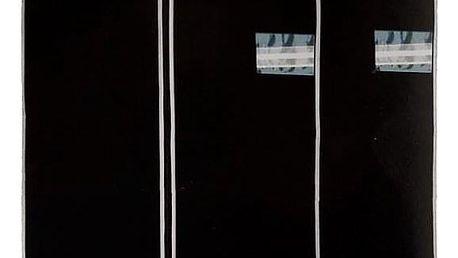Emako Černý obal na oblečení, 2 kusy, 150x60 cm
