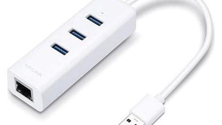 TP-Link UE330 + USB HUB bílá (UE330)