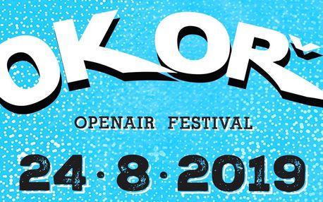 Vstupenka na hudební festival Okoř 2019