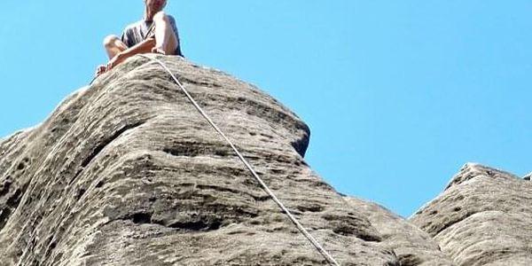 Kurz skalního lezení s výstupem na skalní věž | Adršpach, Český ráj | Květen – říjen, podle počasí. | 1 den (podle fyz. schopností, počasí a lokality).5