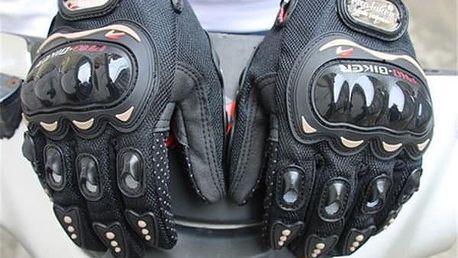 Motocyklové rukavice pro dámy a pány