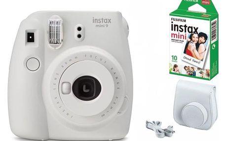 Digitální fotoaparát Fujifilm Instax mini 9 + pouzdro bílý
