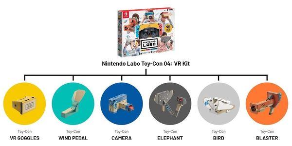 Hra Nintendo Switch Labo VR Kit (NSS502)2