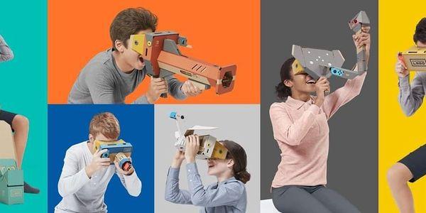 Hra Nintendo Switch Labo VR Kit (NSS502)3