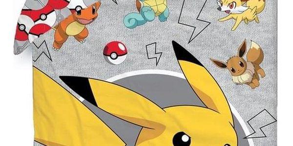 Halantex Bavlněné povlečení Pokémon, 140 x 200 cm, 70 x 90 cm