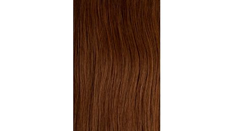 Vlasy s keratinem vlnité - 50 cm oříšková