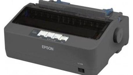 Tiskárna jehličková Epson LX-350 černá (347 zn/s, LPT, USB) (C11CC24031)