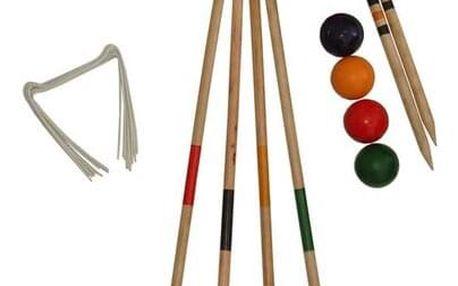 Kroket dřevěný pro 4 hráče