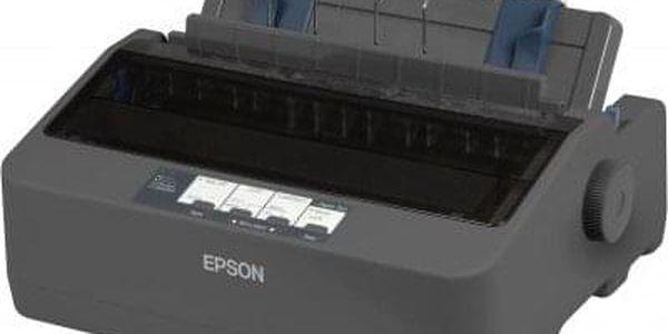 Tiskárna jehličková Epson LX-350 (C11CC24031) černá 347 zn/s, LPT, USB + DOPRAVA ZDARMA3