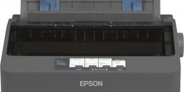 Tiskárna jehličková Epson LX-350 (C11CC24031) černá 347 zn/s, LPT, USB + DOPRAVA ZDARMA4