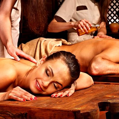 Relax ve dvou s masáží podle výběru
