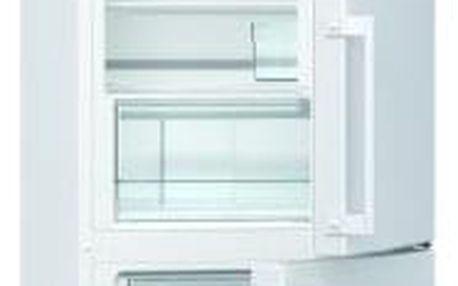 Kombinovaná lednice s mrazákem dole Gorenje RK 6192 BW, A++