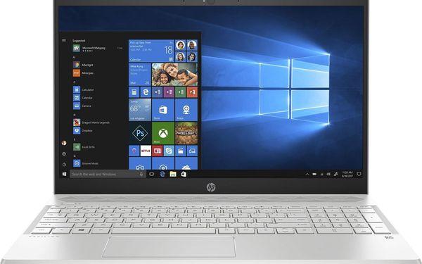 Notebook HP 15-cw1007nc (6WH78EA#BCM) stříbrný + DOPRAVA ZDARMA4