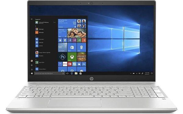 Notebook HP Pavilion 15-cw1007nc stříbrný (6WH78EA#BCM)