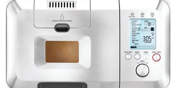 Domácí pekárna SAGE BBM800 stříbrná + DOPRAVA ZDARMA3