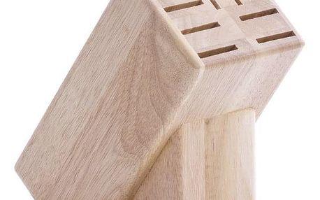Dřevěný stojan na nože, 25x22x13 cm, ZELLER