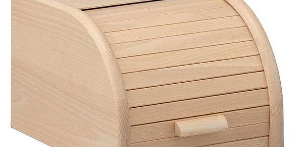 Dřevěný chlebník, box na chleba, 23x28x18cm, ZELLER3