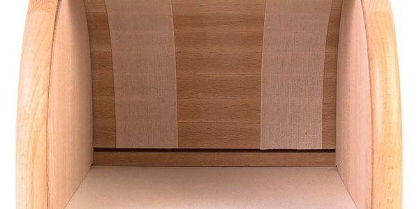 Dřevěný chlebník, box na chleba, 23x28x18cm, ZELLER4