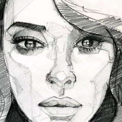 Kresba portrétu – základní principy a cvičení + Dárkový balíček pro začátečníky