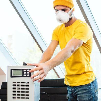 Čištění klimatizace a interiéru vozu pomocí ozónu