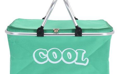 Koopman Chladicí košík zelená, 48 x 28 x 24 cm