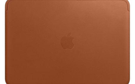 Pouzdro Apple Leather Sleeve pro MacBook Pro 13 - sedlově hnědý (MRQM2ZM/A)