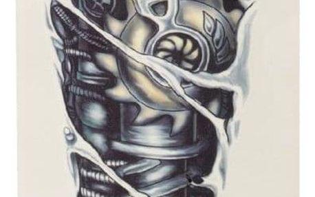 Dočasné 3D tetování - mechanika