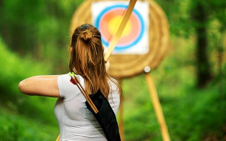 Kurz lukostřelby: teorie, praxe i zábava a oběd