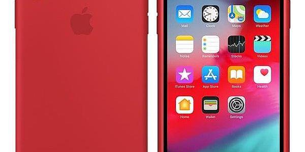 Kryt na mobil Apple pro iPhone Xs Max - (PRODUCT)RED (MRWH2ZM/A) červený3