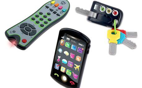 ALLTOYS CIDE Trio set Tech Too - klíče, ovladač a telefon