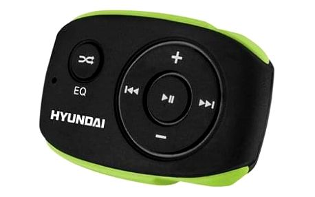 MP3 přehrávač Hyundai MP 312 GB4 BG černý/zelený