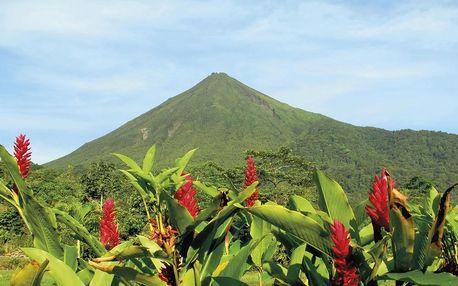 Kostarika letecky na 8 dnů