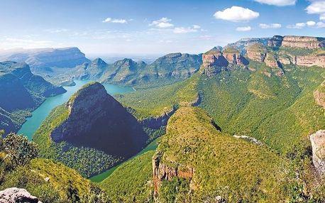 Jihoafrická republika letecky na 12 dnů