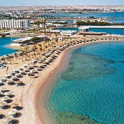 Egypt, Hurghada, letecky na 13 dní all inclusive