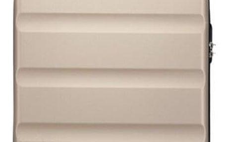 Cestovní kabinový zlatý kufr Sokan 1991