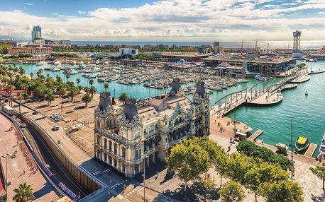 Španělsko - Barcelona na 8 dnů, polopenze