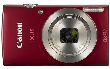 Digitální fotoaparát Canon IXUS 185 červený (1809C001)