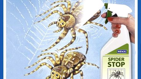 Opuzovač pavouků SPIDER-STOP, 500 ml, WENKO