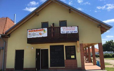 Pasohlávky: Ubytování U Evy nedaleko vodní nádrže Nové Mlýny
