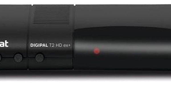 Set-top box Technisat DIGIPAL T2 HD ex+ černý