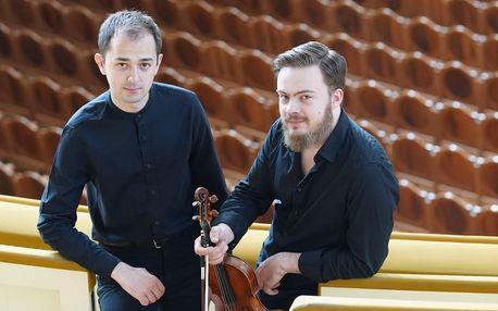 Duo Budnetsky Gavrouc – violin & piano v zámku Stráž