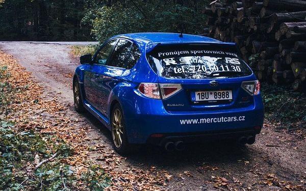 30 min. jízdy v Subaru včetně benzínu3