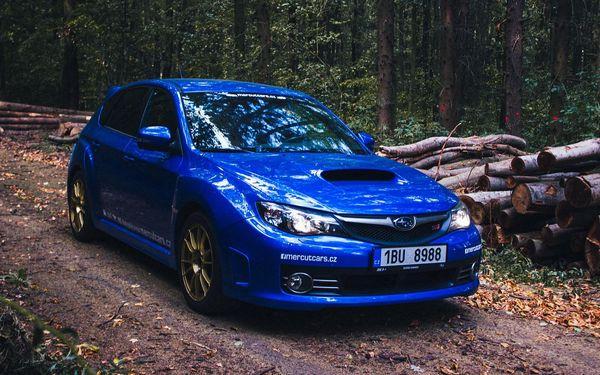 30 min. jízdy v Subaru včetně benzínu4