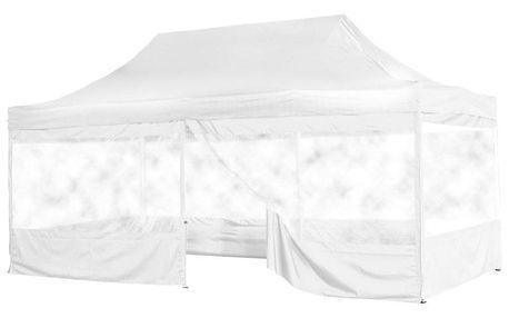 INSTENT 58617 Zahradní párty stan 3 x 6 - nůžkový - bílý