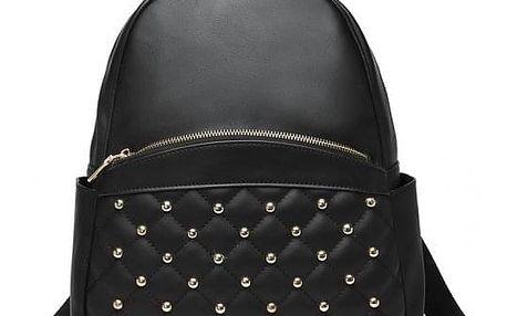 Dámský černý batoh Narda 104