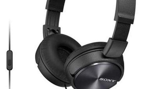 Sluchátka Sony MDRZX310APB.CE7 černá (MDRZX310APB.CE7)