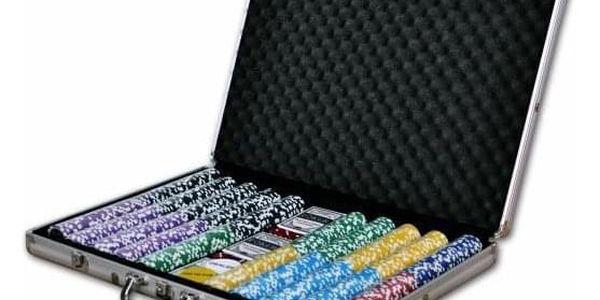 Garthen ULTIMATE 1029 Pokerový kufr 1000 ks žetonů